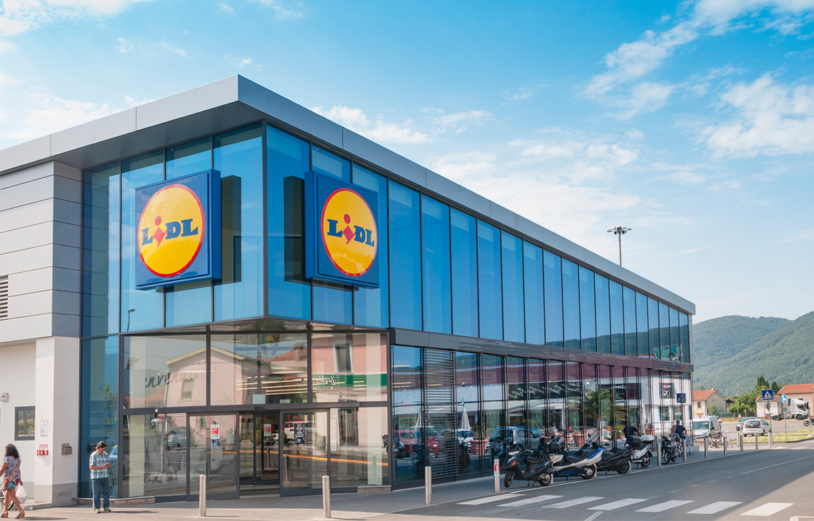 Lidl pledges £15bn for British farming